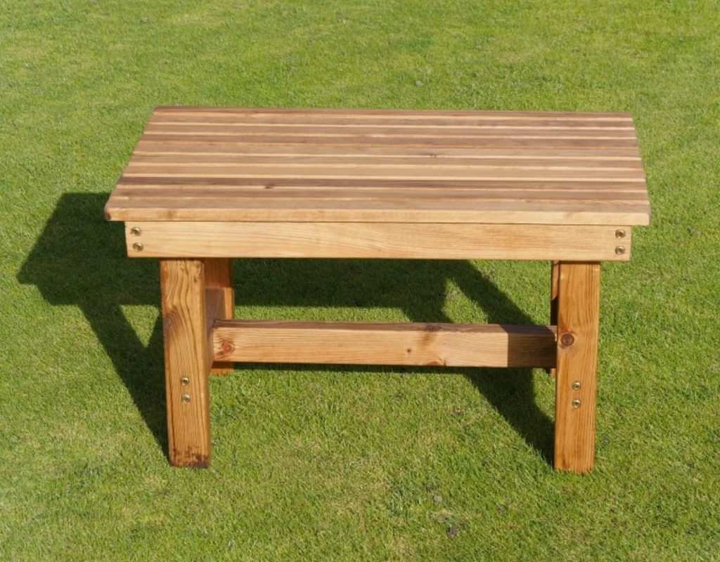 Miraculous Deluxe Wooden Garden Coffee Table Gmtry Best Dining Table And Chair Ideas Images Gmtryco