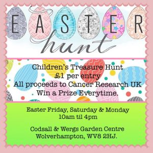 Easter Treasure Hunt @ Codsall & Wergs Garden Centre
