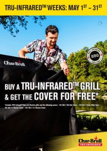 Char-Broil BBQ Offer - Free Cover @ Codsall & Wergs Garden Centre