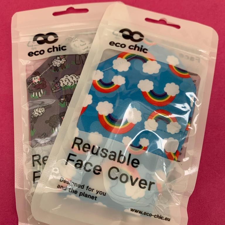 Re-Usable Face Coverings